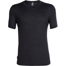 Icebreaker Sphere Top Manga Corta Hombre, black heather